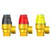 Клапан предохранительный с узлом ручного управления КПУРУ DN15PN16 давление сброса 1,5 бар