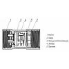 Клапан обратный пружинный КОП с латунным штоком Ду15 Ру16